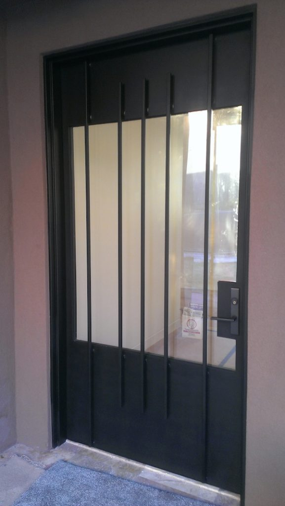 Welding-Kayenta-custom-door