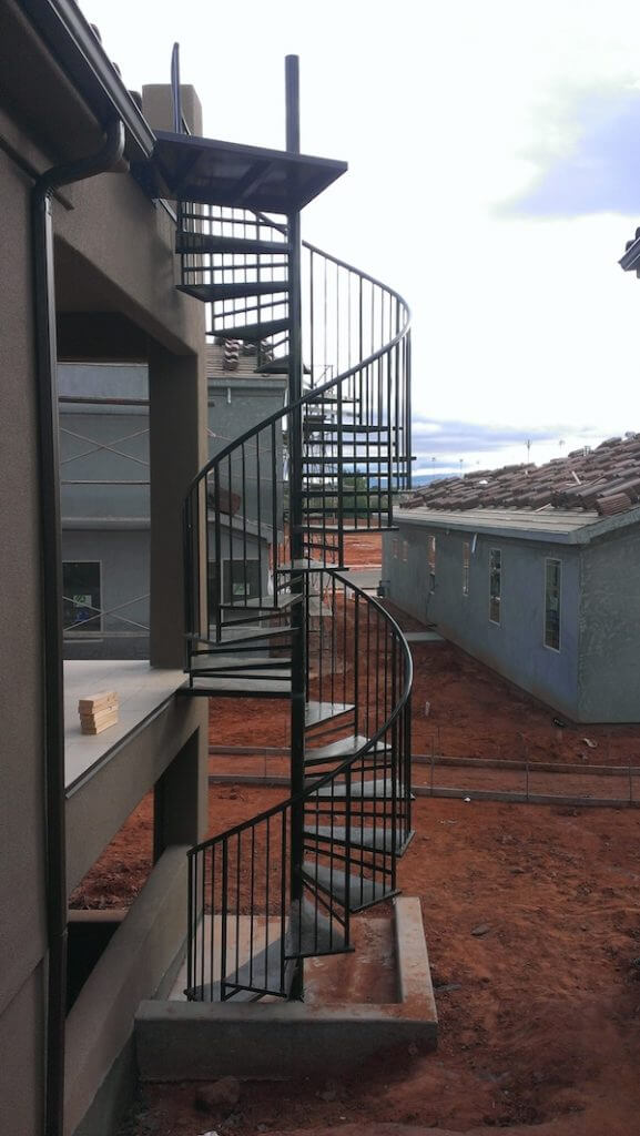 Welding-double-deck-spiral-Paradise-Village